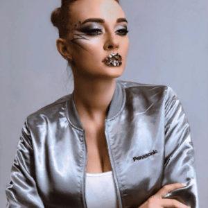 макияж для модели выставка