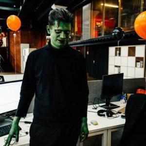 корпоратив на хэллоуин
